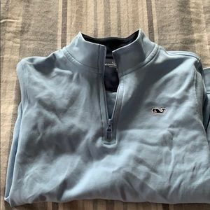 VV half zip pull over